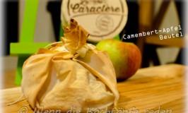 Camembert-Apfel Beutel auf Normannischer Art