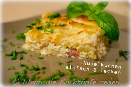 Nudelkuchen-schinken-einfahc-lecker