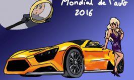 Autosalon in Paris 2016 : wie erkennt man die Herkunft der Besucher ?