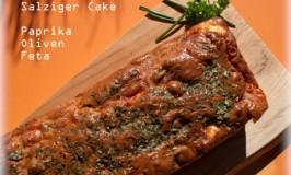 Der Cake Paprika-Oliven-Feta bringt die Sonne auf deinen Teller