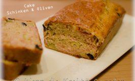 Cake mit Schinken und Oliven : der Picknick-Klassiker