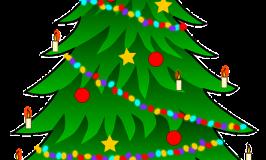 Frohe Weihnachten! Lassen wir uns zusammen ein Liedchen trällern