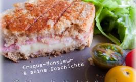 Croque-Monsieur : komischer Name für ein berühmtes Sandwich