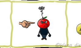Französische Redewendungen rund um's Essen: Äpfel/Birnen