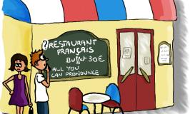 Französisches Buffet : Schlauheit oder Frechheit ?