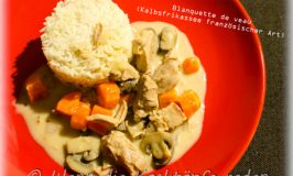 Blanquette de veau (Kalbsfrikassee französischer Art) ganz einfach