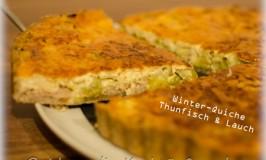 Winter-Quiche mit Thunfisch und Lauch