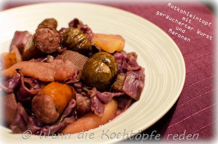 rotkohleintopf-maronen-geraeucherter-wurst