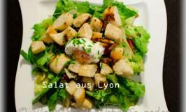 Der kalt-warme Salat aus Lyon