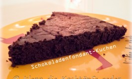 Mein Sieger-Schokoladenfondant-Kuchen