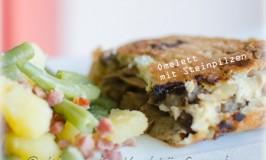 steinpilze-omelett