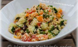 Taboulé: ein beliebter frischer Couscoussalat