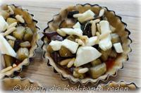 tartelettes-auberginen-mozzarella-pinienkerne