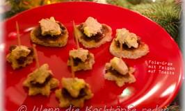 Stressfreies Weihnachtsmenü: Gänseleberpastete mit Feigen auf Toast