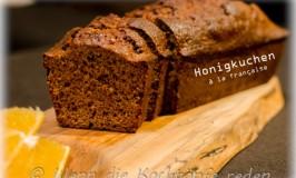 Weihnachts-Spezial : Honigkuchen à la française